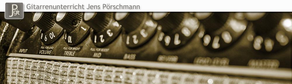 Gitarrenunterricht Jens Pörschmann